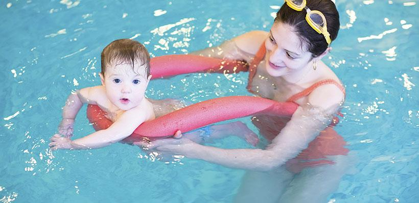 Οφέλη Baby Swimming